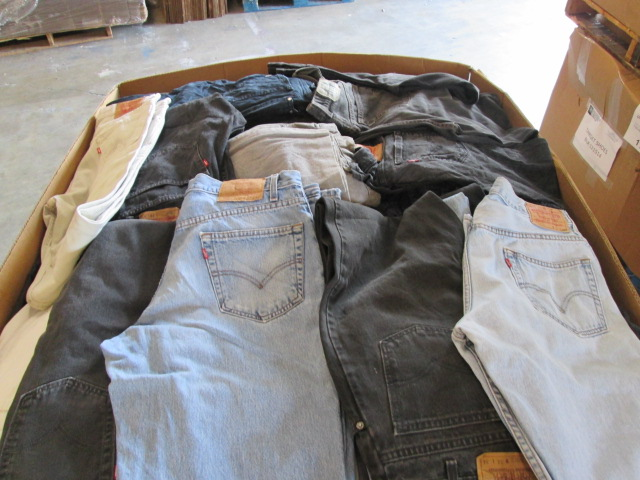 Jeans Only Wholesale Lots $3.50 - Brand Name Denim