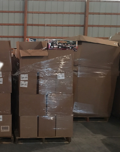 General Merchandise Kohls Wholesale Truckload