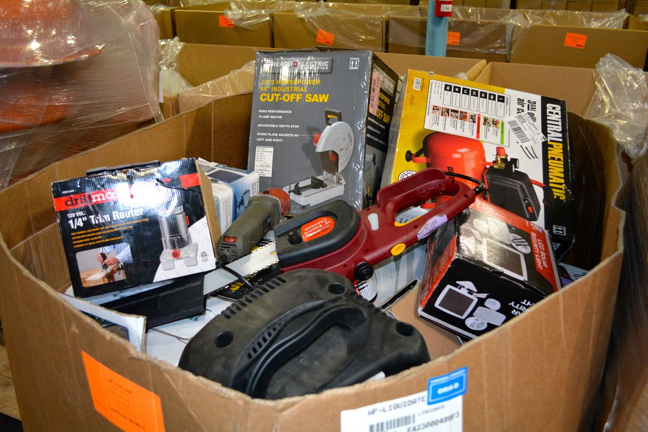 HFT Wholesale Tools Surplus Truckloads