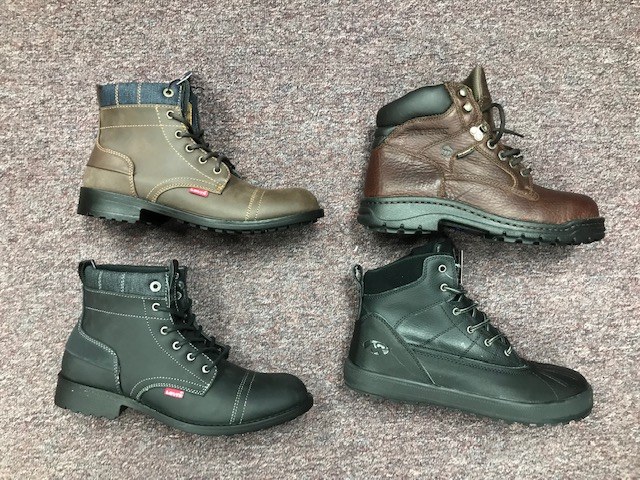Mens Wholesale Boots Package - Assorted Brand Name Boots