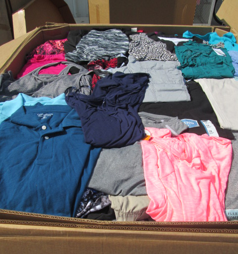 Brand New Wholesale Clothing Pallet As Low as $2.55 TGT